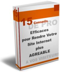 15 Conseils webmaster pro